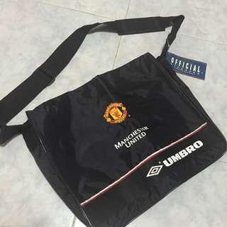 曼聯1999 三冠皇 斜掮袋 record bag