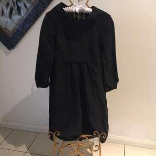 """CUE"" Black Dress"