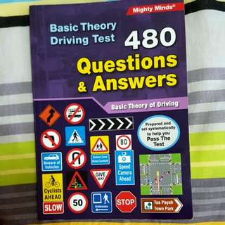 BTT Basic Theory Driving Test: 480 Questions & Answers
