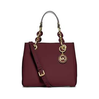 Michael Kors Small Cynthia Burgundy