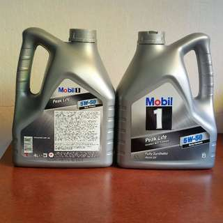Mobil 1 Fully Synthetic Engine Oil 5W-50 4L