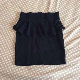Cotton On Peplum Skirt