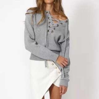 Lioness Size Xs-S Grey Knit
