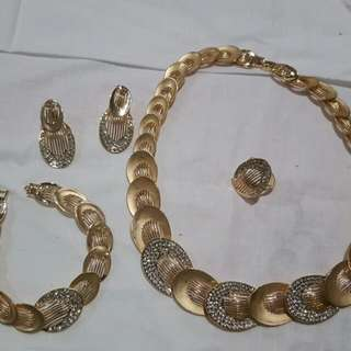 Necklace, Ring And Jewellery Set