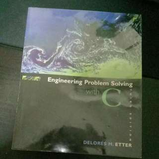 Engineering Problem Solving With C Textbook. Mint Condition With Plastic Wrapper Since Day 1