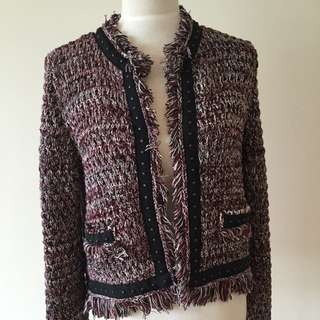 New With Tags Topshop Chunky Knit Cardi