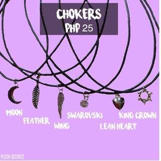 Rubber chokers