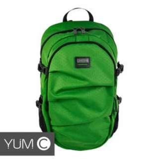 【風雅小舖】【美國Y.U.M.C. Greenwich格林系列Active Backpack 15.6吋筆電後背包 綠色】電腦包/雙肩背包 可容納15.6吋筆電
