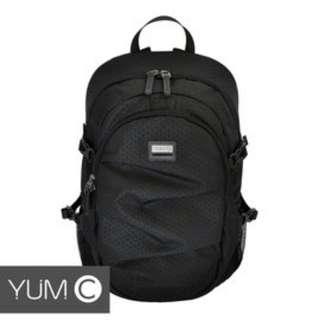 【風雅小舖】【美國Y.U.M.C. Greenwich格林系列Active Backpack 15.6吋筆電後背包 黑色】電腦包/雙肩背包 可容納15.6吋筆電