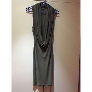 Plunging Mistress Rocks Dress