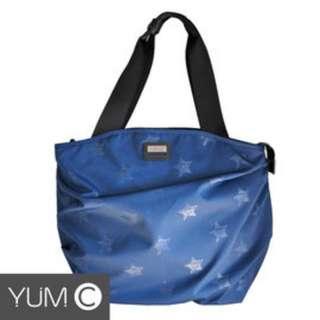 【風雅小舖】【美國Y.U.M.C. Greenwich格林系列Shopper 13吋 2WAY手提/側背筆電包 藍色】電腦包/斜肩包 可容納13.3寸筆電