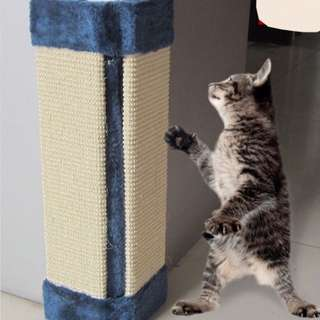 $20 Cat Scratch Pad Wall Corner Standing Protect Sofa Bed Chair