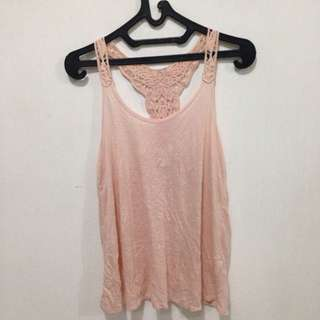 Tanktop Peach By Forever 21