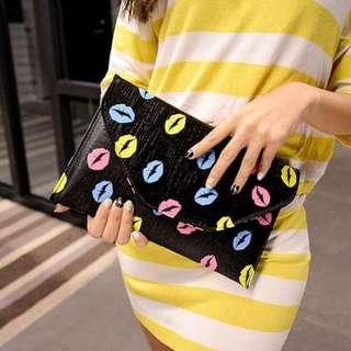 2016春夏韓版時尚鏈條信封手拿包