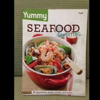 Yummy Seafood Favorites Cook Book