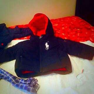 Ralf Lauren Coat Size 2 And 9 Month