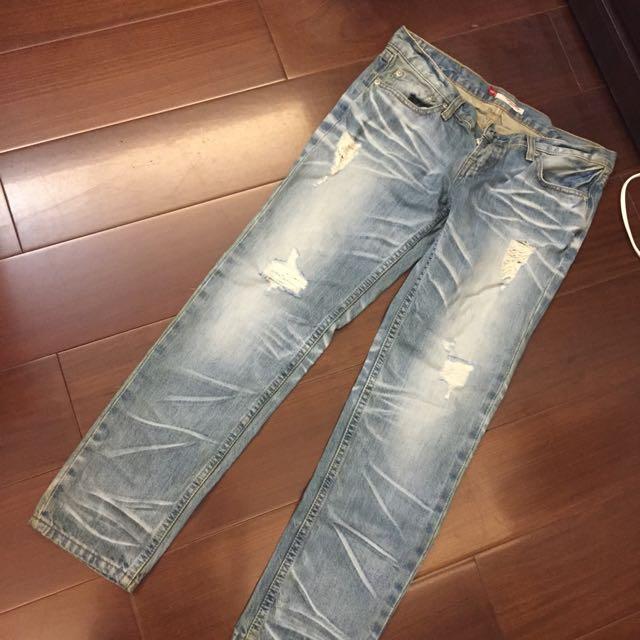清倉亂賣✅直筒牛仔褲