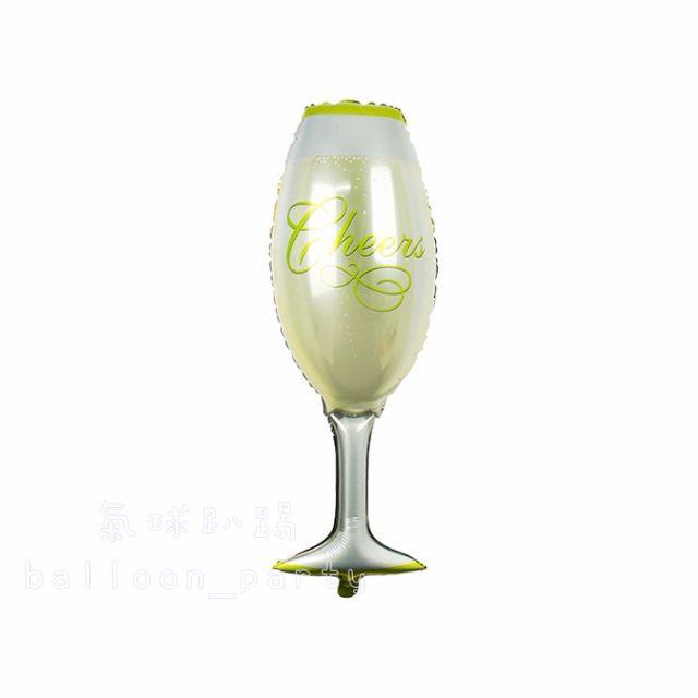大款香檳杯 鋁箔氣球 / 情人節 錫箔汽球 婚禮生日派對 祝賀禮物 佈置 求婚告白