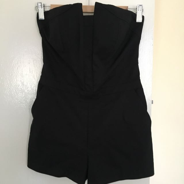Bardot Playsuit Size 8