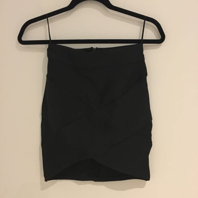 Brand New Black Bandage Skirt