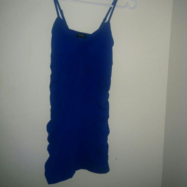 Blue Sirens Mini Dress Small