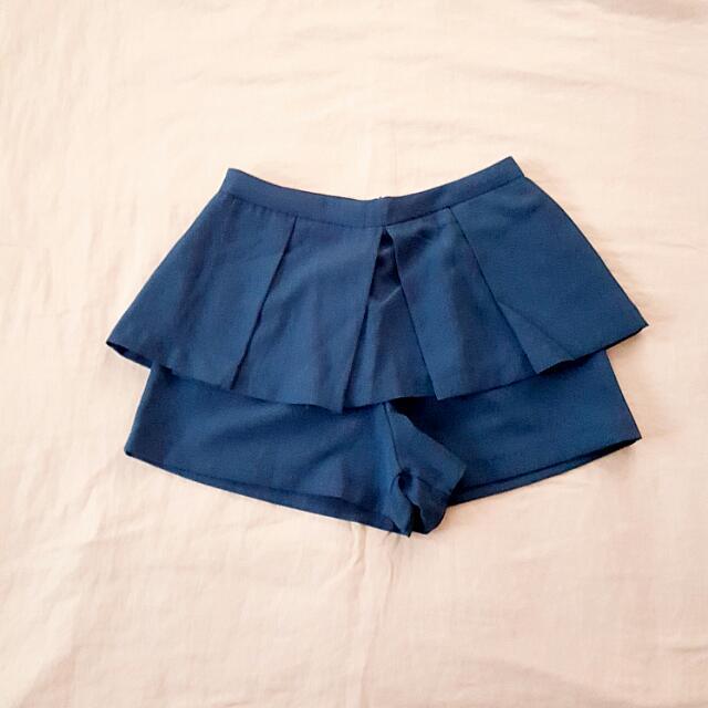 Blue Skorts