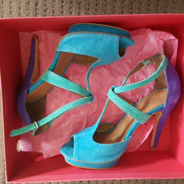 Bonbons Suede Look Shoes