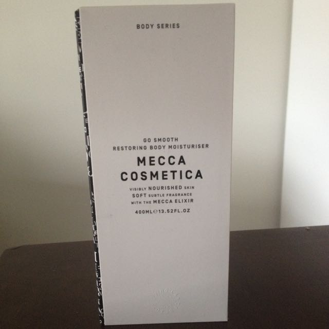 Brand New Mecca Go Smooth Restoring Body Moisturiser