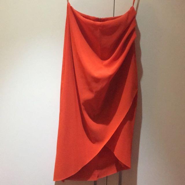 Burnt Orange Bec & Bridge Skirt