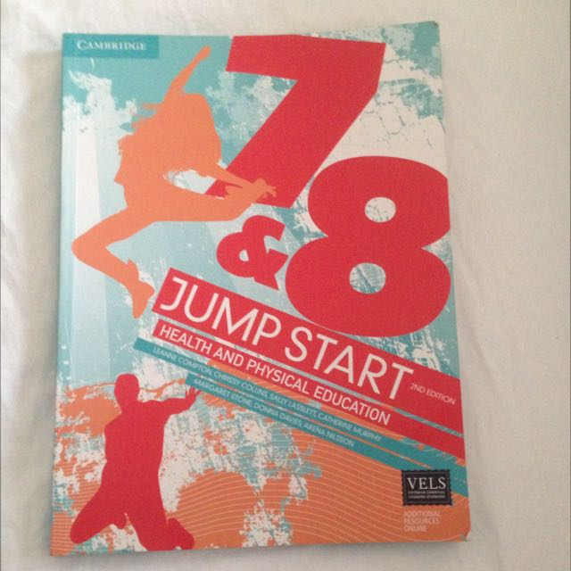 Cambridge Jumpstart Health & PE 7/8 Textbook