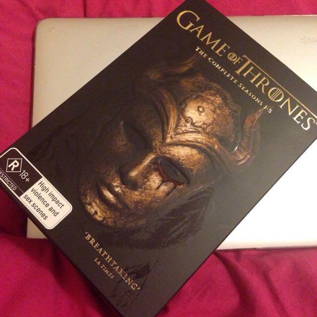 DVD Game Of Thrones Season 1-5