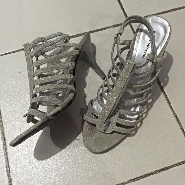 Gibi Silver Gladiator Size 39