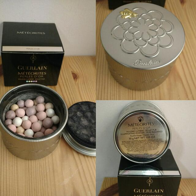 Guerlain météorites perles d'or illuminating powder