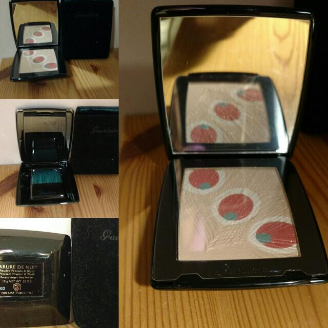 Guerlin parure de nuit  pressed powder and blush