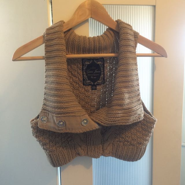 Guess Knitted Cropped Vest