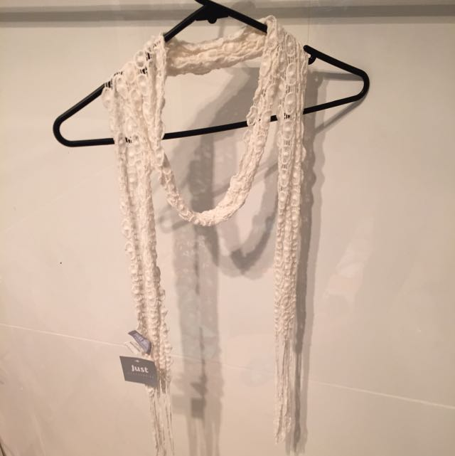 Just Jeans Lace Scarf