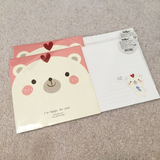 Kawaii Letter Sets