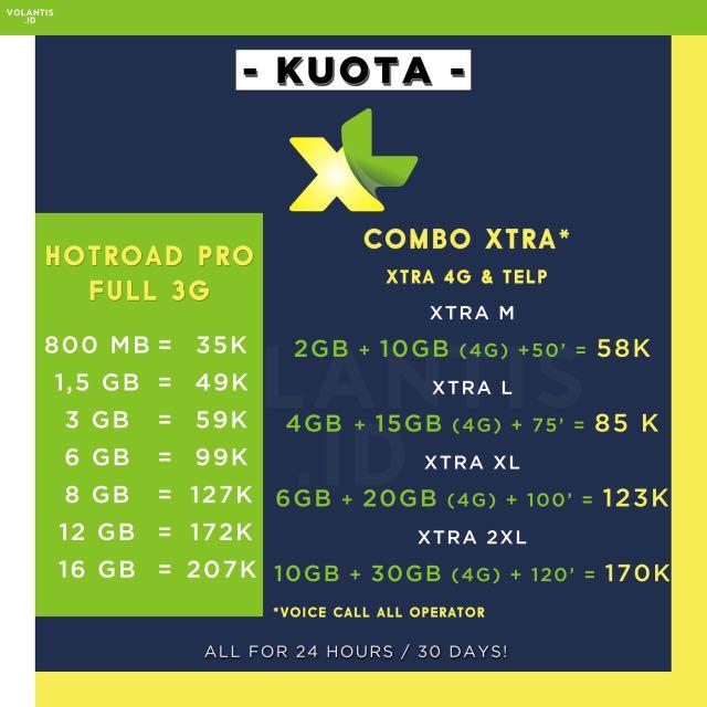 KUOTA XL MURAH