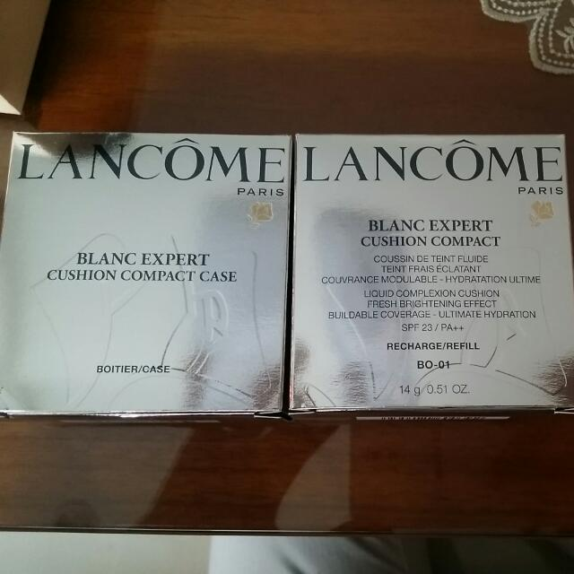 (含運)全新蘭寇氣墊粉餅LANCOM