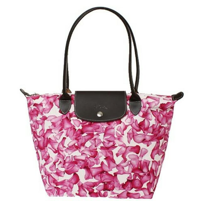 Longchamp Limited Edition Darshan Rose
