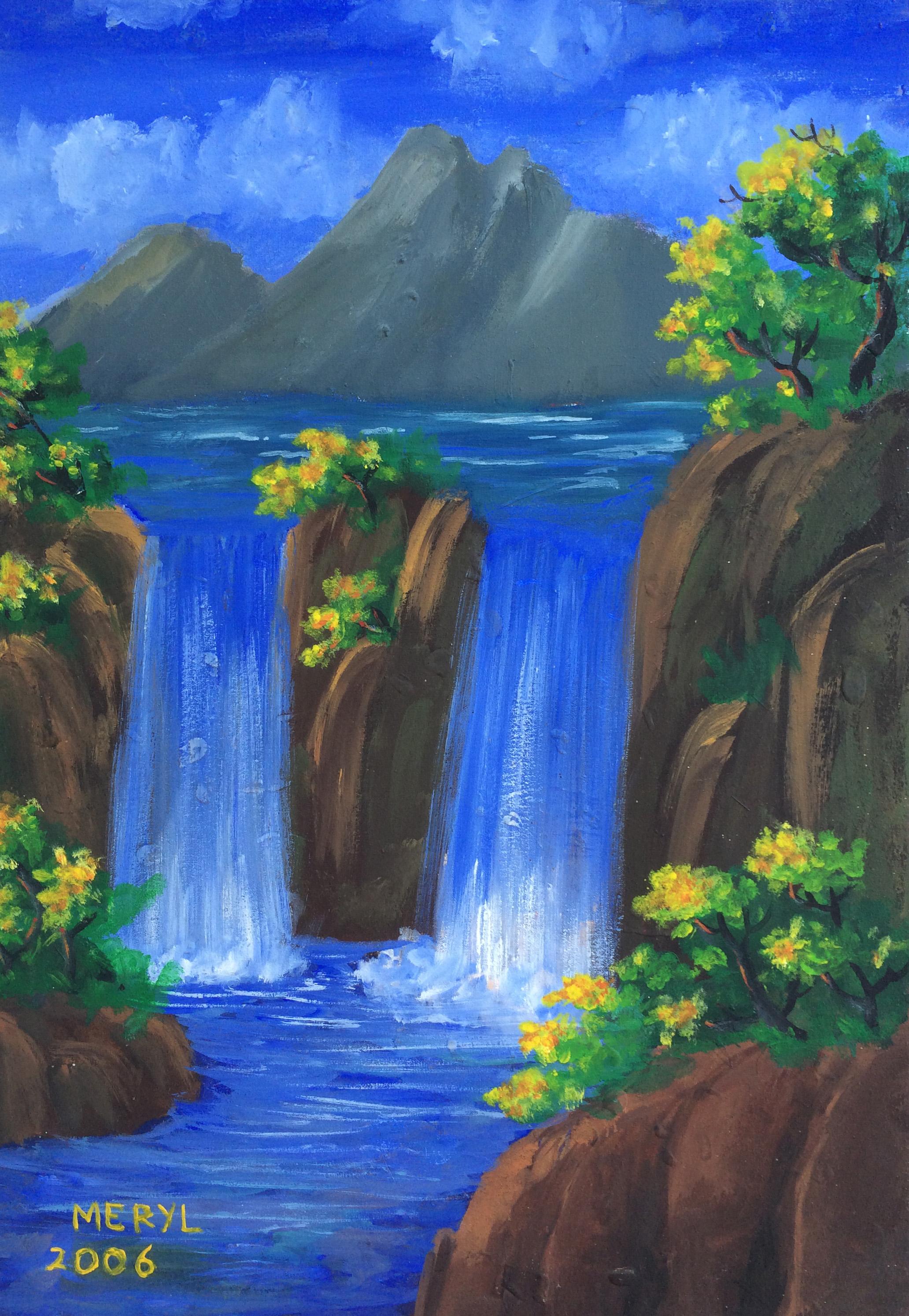 101 Gambar Alam Lukisan Paling Bagus
