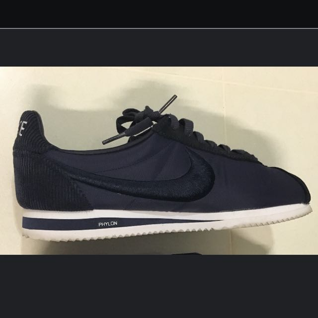 timeless design f39fc a40fb Nike Cortez Navy Sneakers For Men