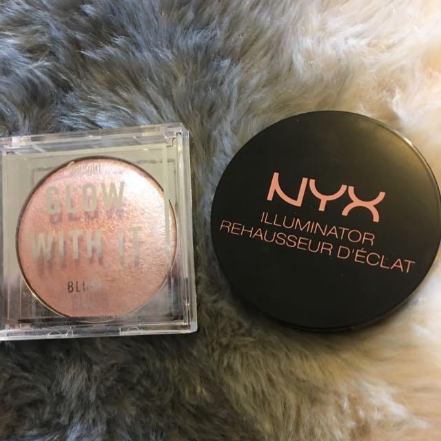 Nyx Illuminator + Sports girl Blush
