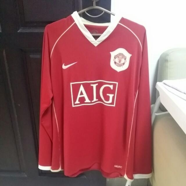 c52b0bc78 Reserved)Preloved Manchester United Replica Jersey