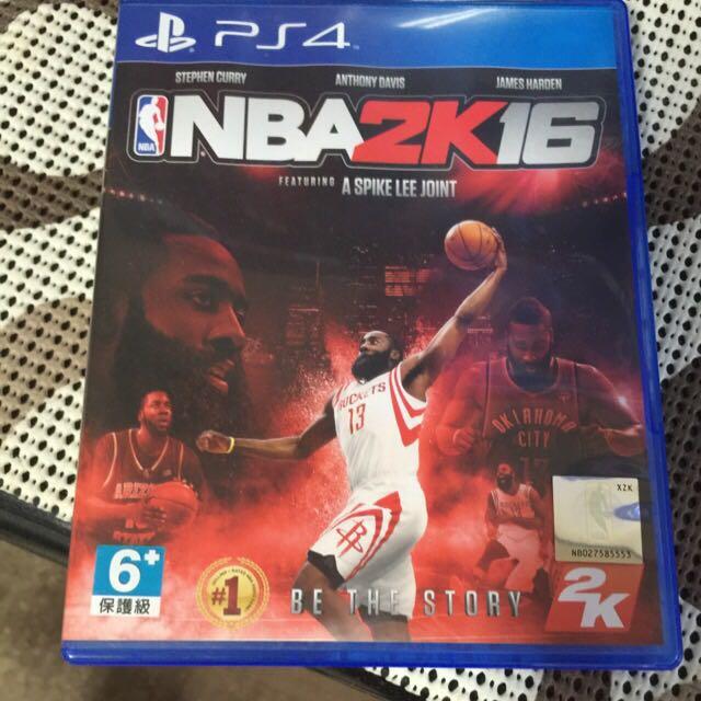 Ps4 NBA2k16(保留)