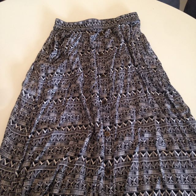 Rip Curl Maxi Skirt Size 10