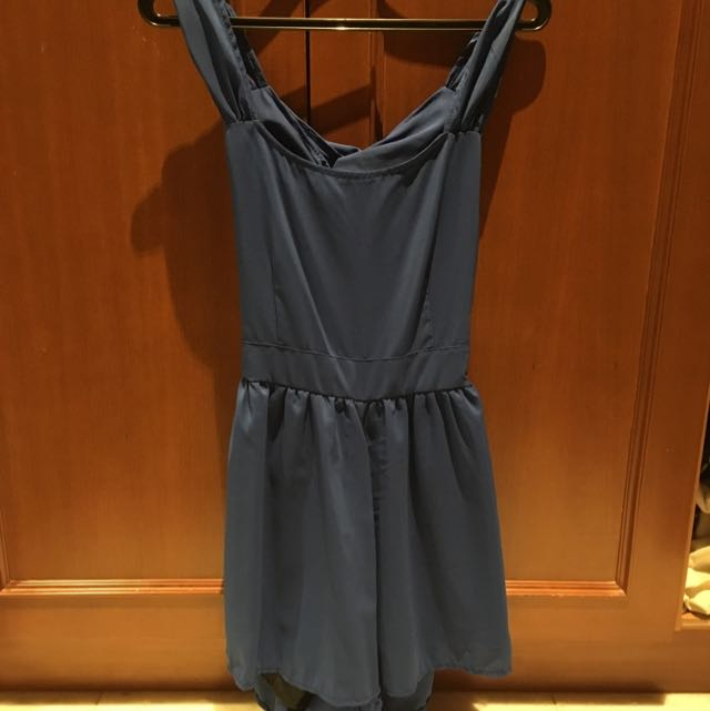 Romper With Cutouts