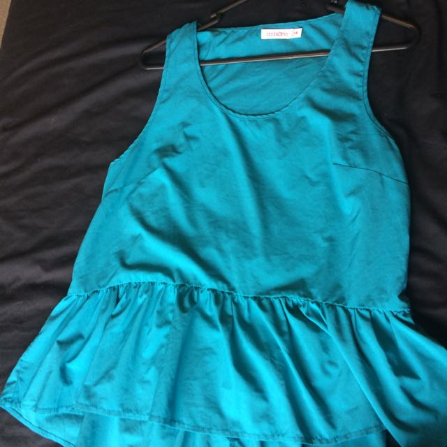 Size 14 - Turquoise Top