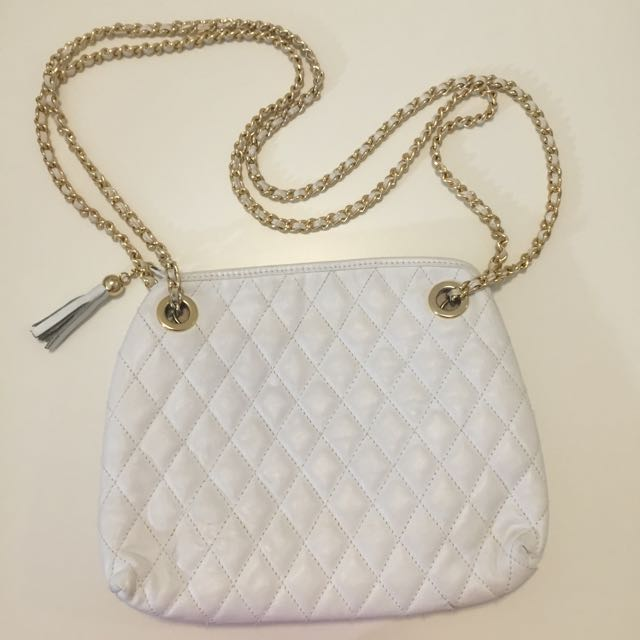 Square Quilted Sidebag