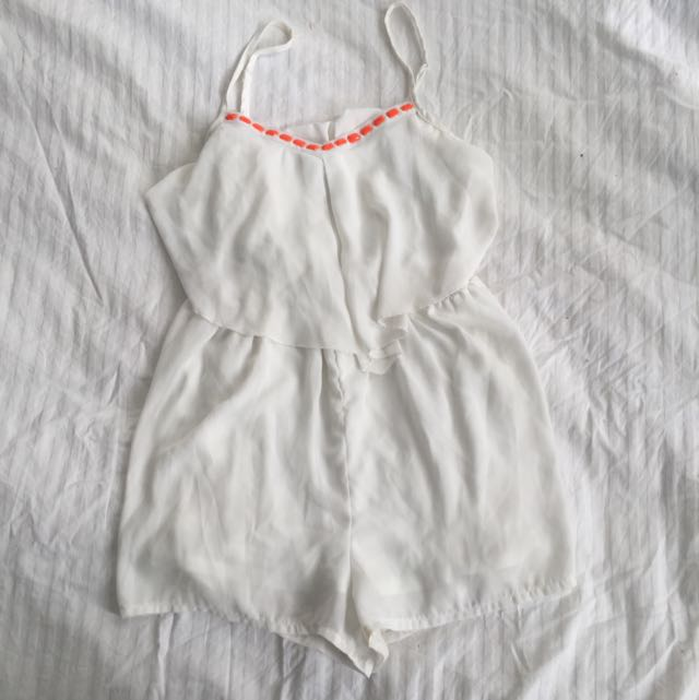 WHITE PLAYSUIT✖️12